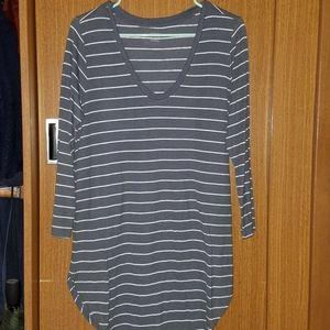 A.N.A. Striped Top
